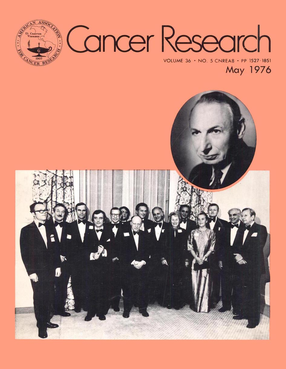 Cancer Research, May 1976